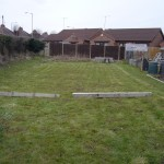 Area prepared in readiness for the Orchard project